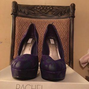 Rachel Roy Deep Purple leather upper.